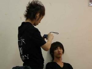 TAKUYA∞後髪つんつん