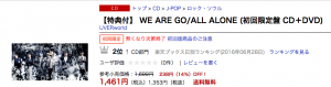 WE ARE GO/ALL ALONE