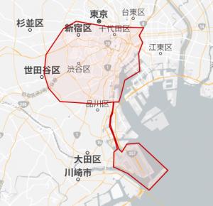 uber 使用可能 地域