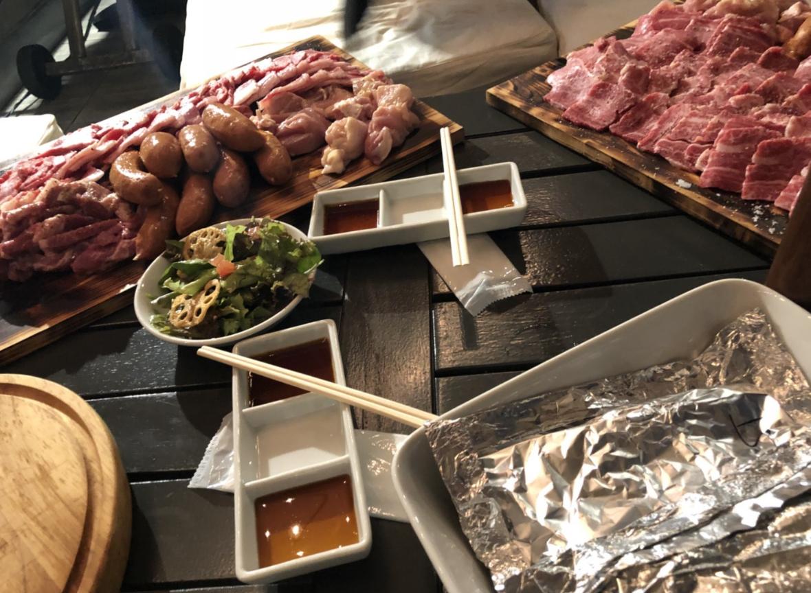 代官山BBQ